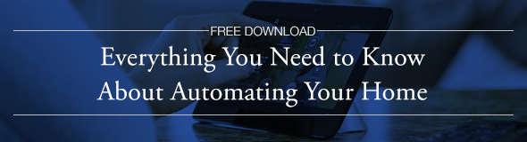 A FREE download from MTC: Everything You Need to Know About Automating Your Home